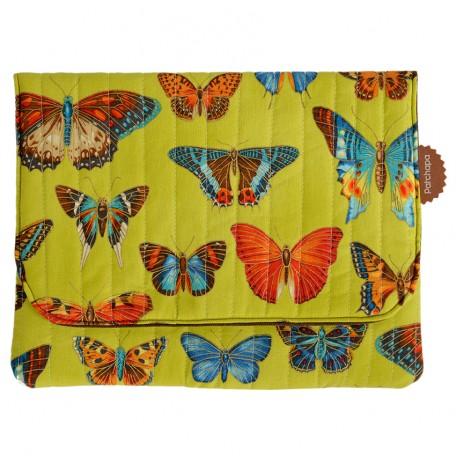 pochette Manta papillons face