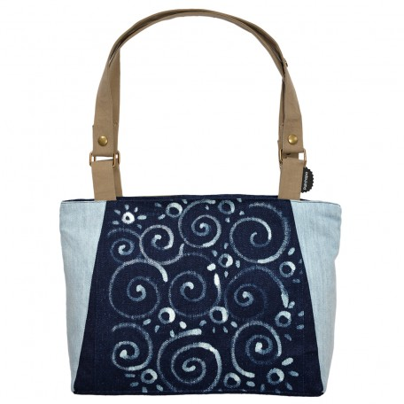 sac Barracuda Grafikindigo vertigo face