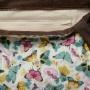 sac Barracuda papillons menthe chocolat poche intérieure