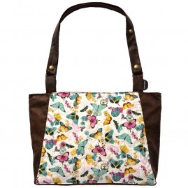 sac Barracuda papillons menthe chocolat face