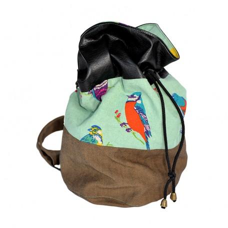 sac Piranha volière céladon profil